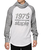 Staple Tech Hooded Long Sleeve T-Shirt