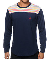 Staple Zamora Long Sleeve Pocket T-Shirt