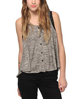 Starling Button Tank Top