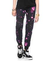 Starling Galaxy Print Jogger Pants