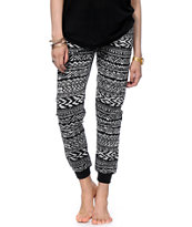 Starling Tonal Tribal Jogger Pants