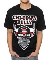 State Of Mind IL Bully Black Tee Shirt
