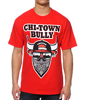 State Of Mind IL Bully Red Tee Shirt