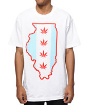 State Of Mind IL Chicago Flag T-Shirt