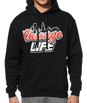 State Of Mind IL Chicago Light Black Pullover Hoodie