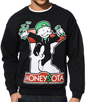 State Of Mind MN Minnopoly Black Crew Neck Sweatshirt