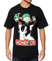 State Of Mind MN Moneysota Black Tee Shirt