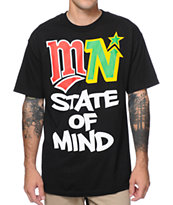 State Of Mind MN State Of Mind Black Tee Shirt