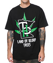 State Of Mind MN THC Trees Black Tee Shirt