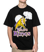 State Of Mind MN Vape Kings Black Tee Shirt
