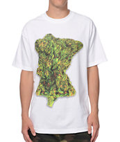 State Of Mind Rep Minnesota Bud White Tee Shirt