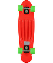 Stereo Extended Player 27.0 Red Cruiser Complete Skateboard