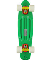 Stereo Vinyl Cruiser Green & White Complete Cruiser Board