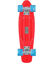 Stereo Vinyl Cruiser Red & Blue Complete Cruiser Board