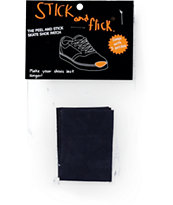 Stick and Flick Navy Shoe Patch
