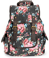 Stone Mountain Floral Rucksack Backpack