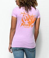 Stoney by Post Malone Buck Hunt Club Lilac & Orange T-Shirt