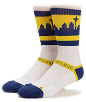 Strideline Classic SeaTown Throwback M's Crew Socks
