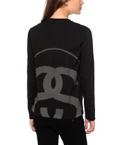 Stussy 3M Reflective Big Link Long Sleeve T-Shirt
