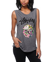 Stussy 8 Ball Paint Muscle Tee