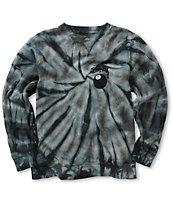Stussy 8 Ball Spiral Tie Dye Crew Neck Sweatshirt