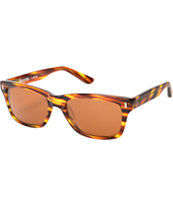 Stussy Artie Tiger Tortoise Brown Sunglasses