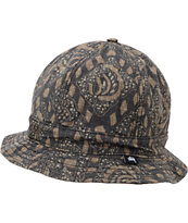 Stussy Bali Black Bucket Hat
