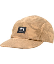 Stussy Big 5 Khaki Camper 5 Panel Hat