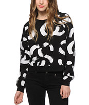Stussy Brush Link Crew Neck Sweatshirt