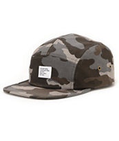 Stussy Camo Charcoal 5 Panel Hat