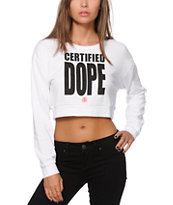 Stussy Certified Dope Crop Top