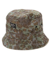 Stussy Cheetah Camo Bucket Hat
