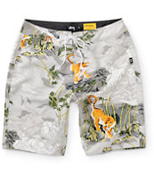 Stussy China World Tribe 19.5 Board Shorts