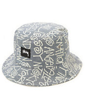 Stussy Cities Bucket Hat