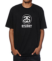 Stussy Cities Link Black T-Shirt