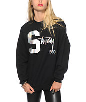 Stussy College Hologram Crew Neck Sweatshirt