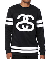 Stussy Double Stripe Long Sleeve Football Jersey