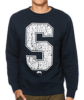 Stussy Elephants Crew Neck Sweatshirt