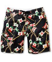 Stussy Flag 20 Board Shorts