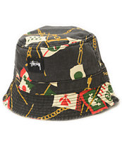 Stussy Flags Bucket Hat