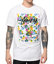 Stussy Flower Block Tee Shirt