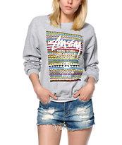 Stussy Fresh Prince Crew Neck Sweatshirt