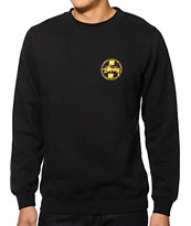Stussy Gold Dot Crew Neck Sweatshirt