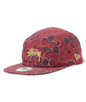 Stussy Gold Flake New Era 5 Panel Hat