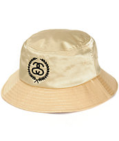 Stussy Gold Leaf Bucket Hat