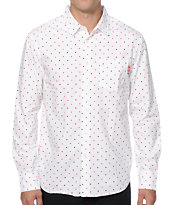 Stussy Hustler Long Sleeve Button Up Shirt