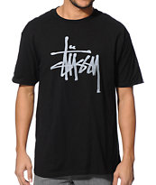 Stussy Ink Black Tee Shirt