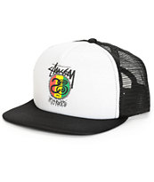 Stussy Irie Roots Rasta Trucker Hat