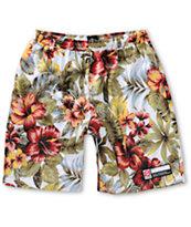 Stussy Island Flower Mesh Shorts