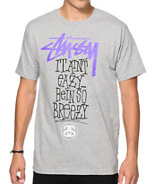 Stussy It Ain't Easy Tee Shirt